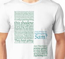 The Two Towers-- Sam's Speech Unisex T-Shirt
