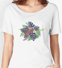 Tropical plant  Women's Relaxed Fit T-Shirt
