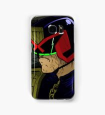Judge Dredd and his Lawgiver Samsung Galaxy Case/Skin