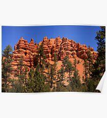 Sandstone Cliffs Poster