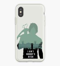 I ain't nobody's bitch iPhone Case