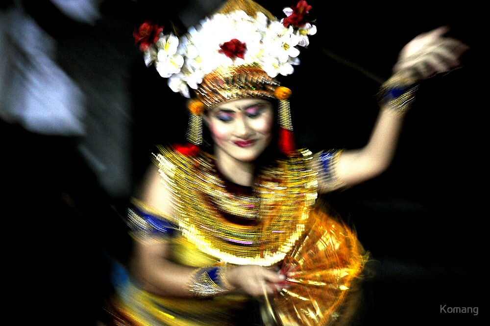 Motion Dancer #7 - Expression of the soul by Komang