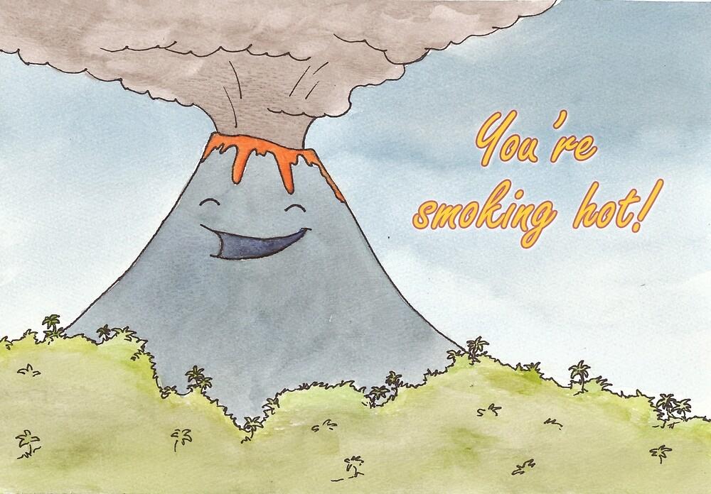 Volcano valentine by Toni Johnson