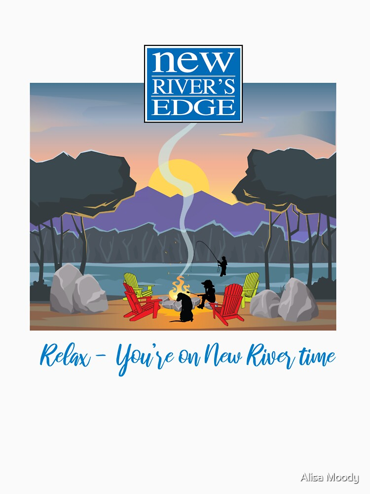 New River Time by alisahmoody