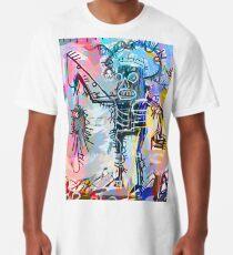 Ein digital überarbeiteter Basquiat Longshirt