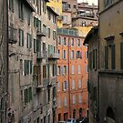 The Via Galeazzo Alessi, Perugia, Italy by Philip Mitchell