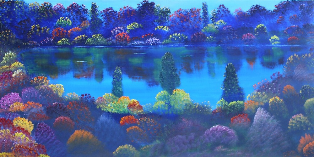 Garden Lake by David Snider