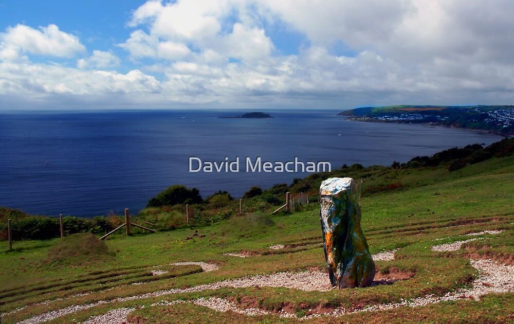 Looe Bay, Cornwall by David Meacham