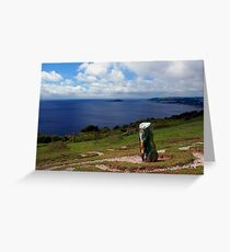 Looe Bay, Cornwall Greeting Card