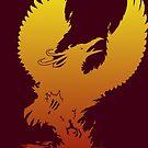 Phoenix Silhouette by ferinefire