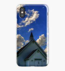 Church on the Prairies iPhone Case/Skin