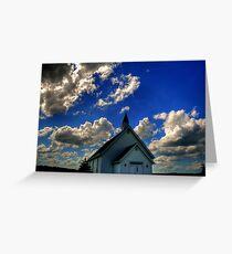 Church on the Prairies Greeting Card
