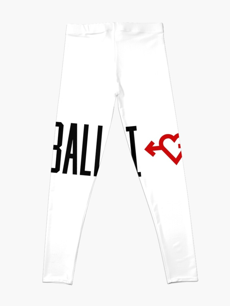 Alternate view of I LOVE BASKETBALL Leggings