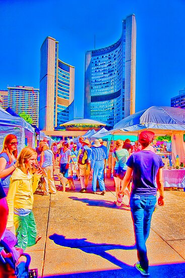 Nathan Phillips Square Art Festival by Marilyn Cornwell