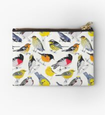 Springtime Birds Zipper Pouch