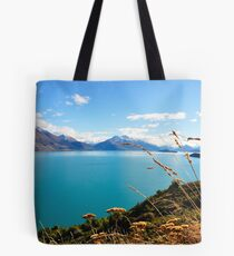 Lake Wakatipu Grasses, South Island, New Zealand Tote Bag