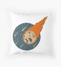 Asteroid Day Throw Pillow
