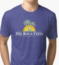 Del Boca Vista - Retirement Community Tri-blend T-Shirt