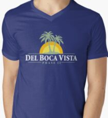 Del Boca Vista - Retirement Community Men's V-Neck T-Shirt