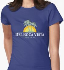 Del Boca Vista - Retirement Community Women's Fitted T-Shirt