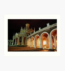 Aranjuez de Noche Art Print