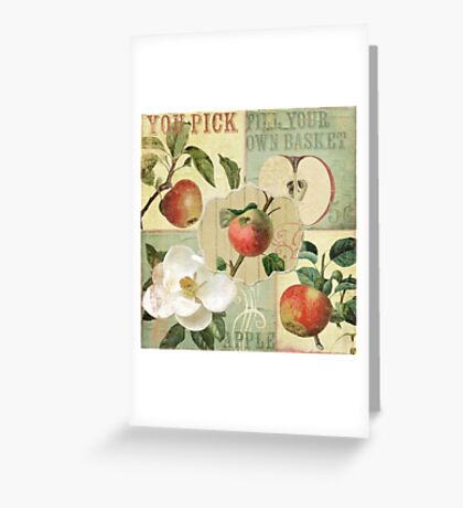 Apple Blossoms III Greeting Card