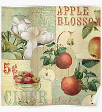 Apple Blossoms IV Poster