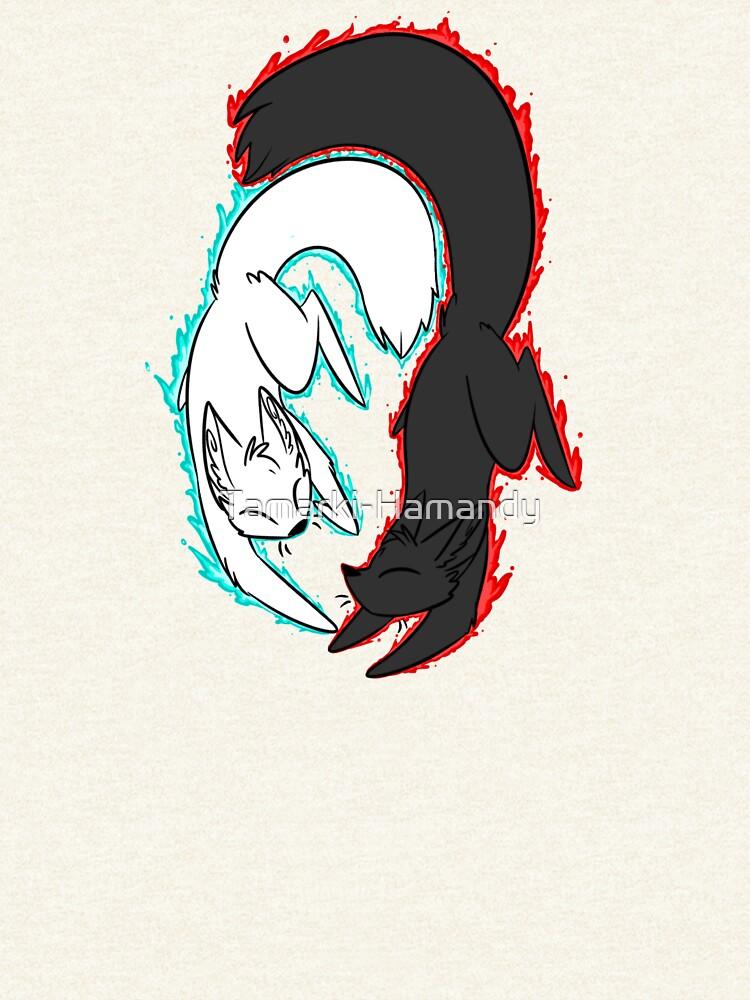 Zorro de llamas gemelas! de Tamarki-Hamandy