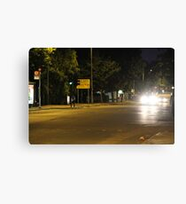Downtown suburb Canvas Print