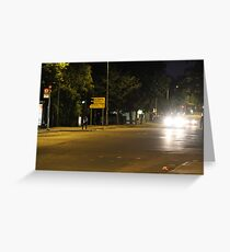 Downtown suburb Greeting Card