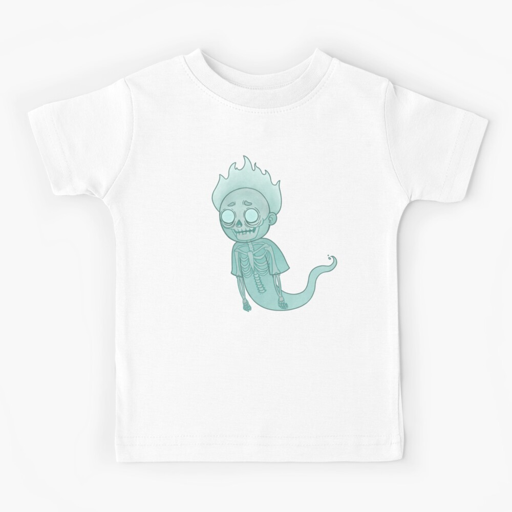 Ghost Morty Kids T-Shirt
