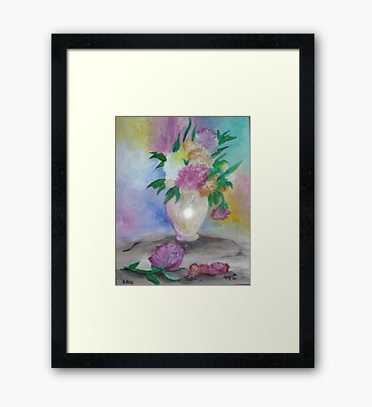 Soft and Gentle Framed Print