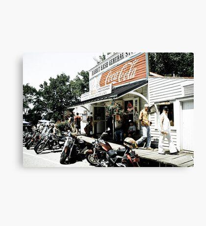 Biker Heaven Canvas Print