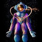 Astronaut Flashy by Sunflow