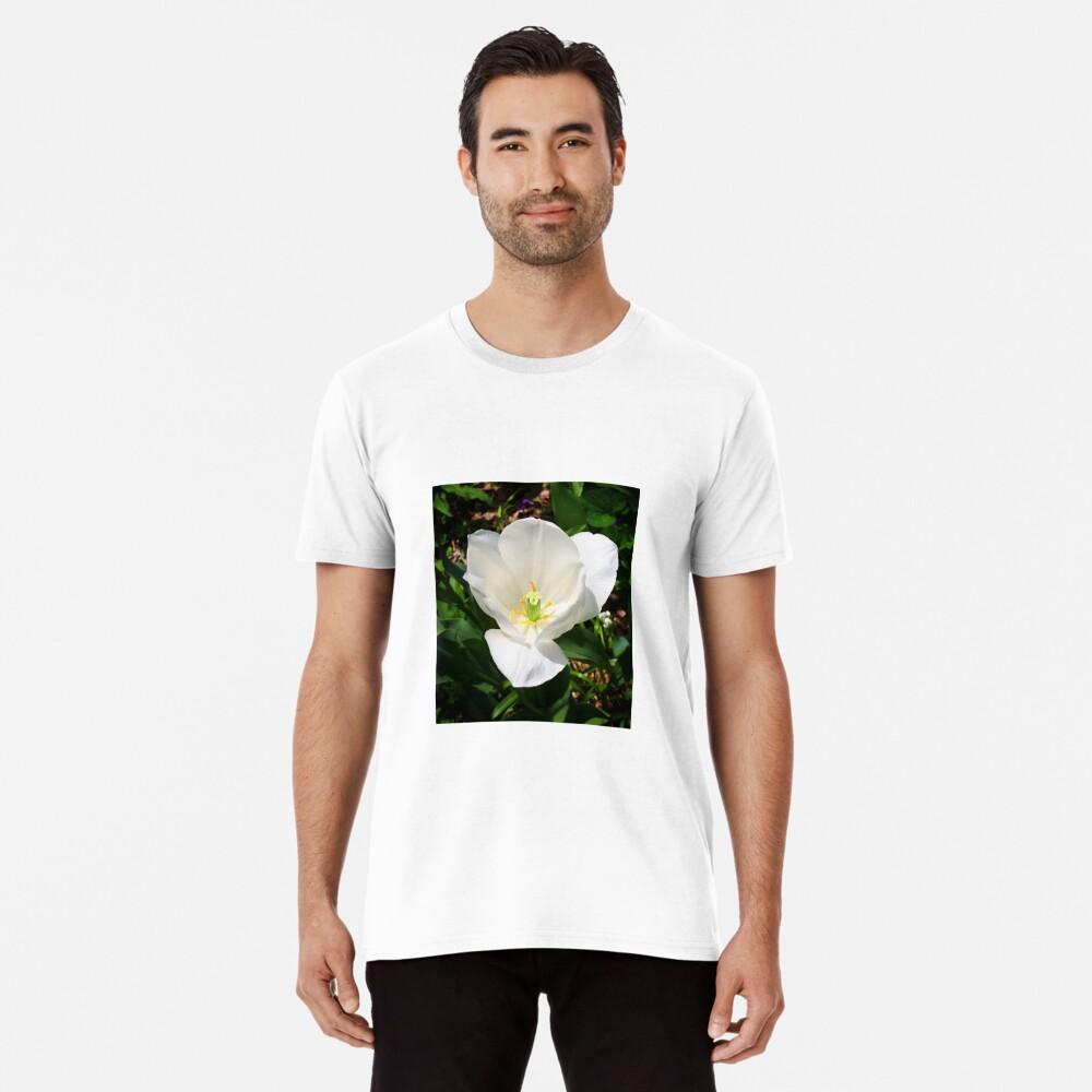 White Tulip Premium T-Shirt