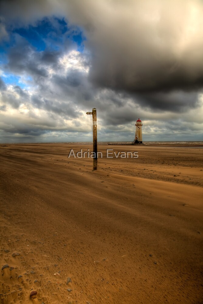 Storm Brewing by Adrian Evans