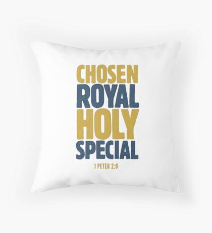 Chosen, Royal, Holy, Special - 1 Peter 2:9 Floor Pillow