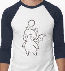 Final Fantasy Mog Men's Baseball ¾ T-Shirt