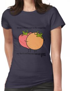 Bullet to the Binary Womens Fitted T-Shirt