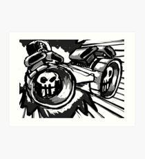 Ludicrous Speed Art Print