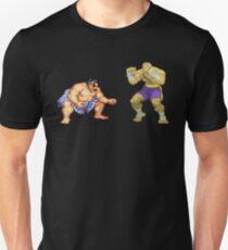 Street Fighter E.Honda vs. Sagat Unisex T-Shirt