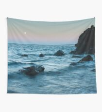 Sunset at Agate Beach Wall Tapestry