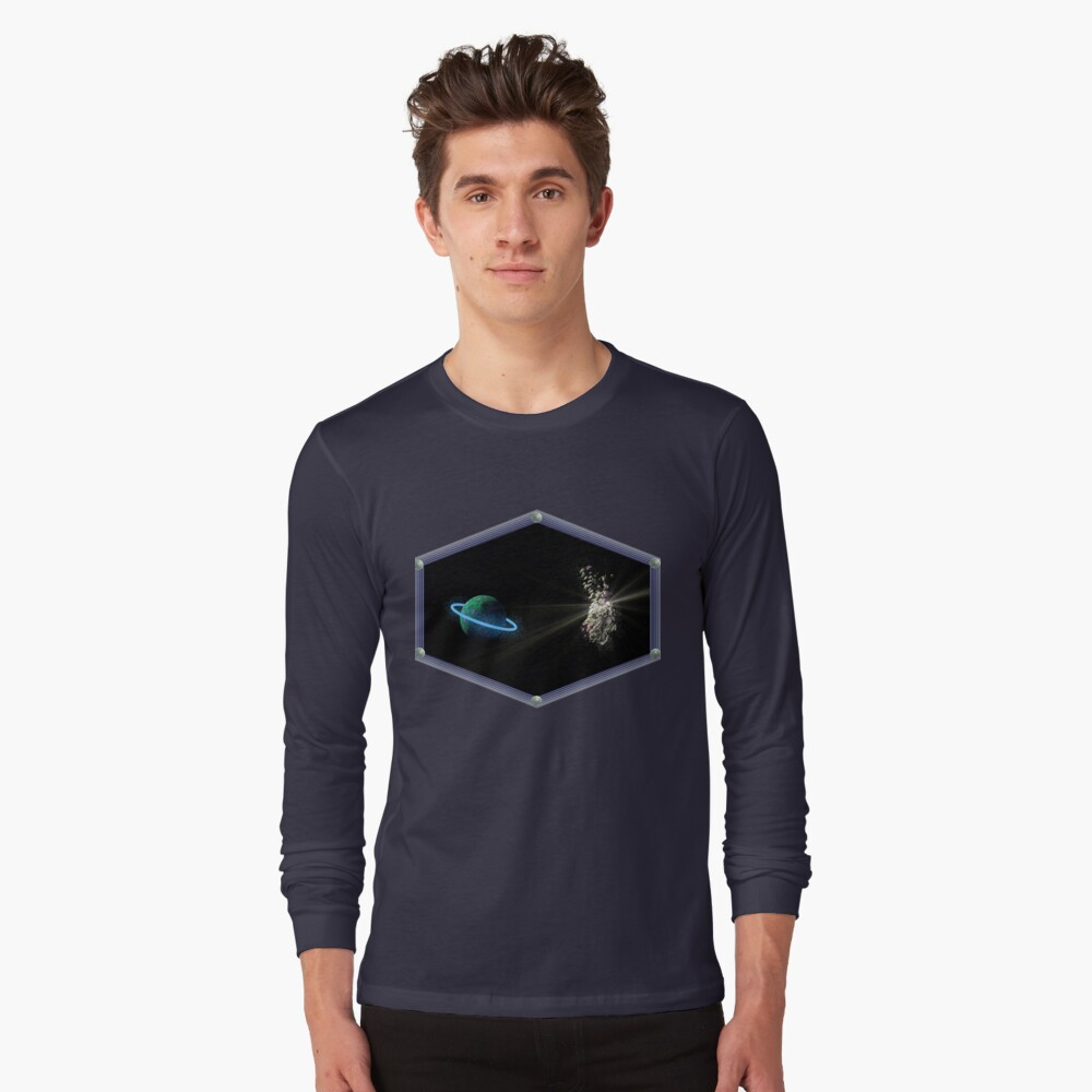 ASTEROID DAY 2. Long Sleeve T-Shirt