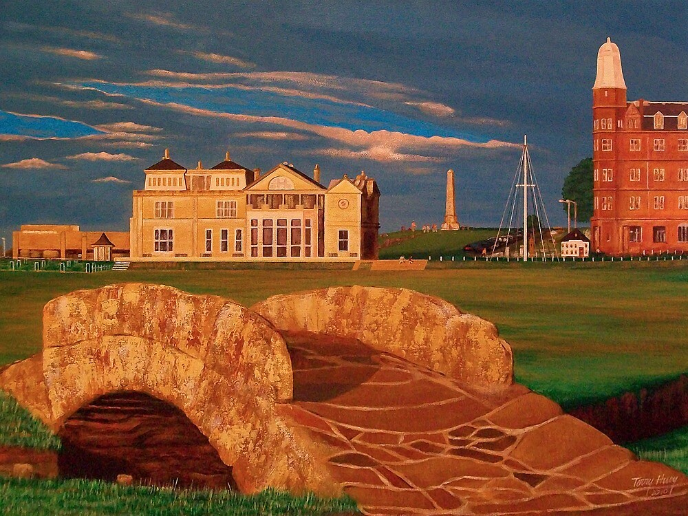 Eighteen at St Andrews by Terry Huey