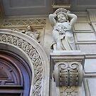 Detailed doorway - Barcelona by monkeyferret