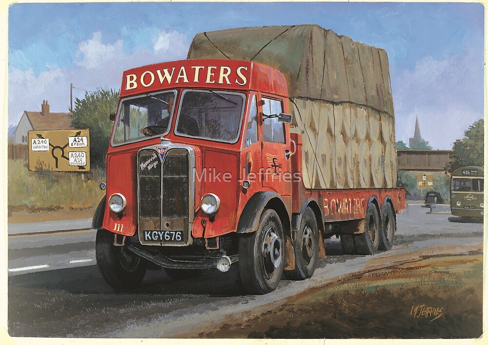 AEC Mammoth Major Bowwaters. by Mike Jeffries