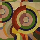 Sonia Circles FIVE by BigFatArts