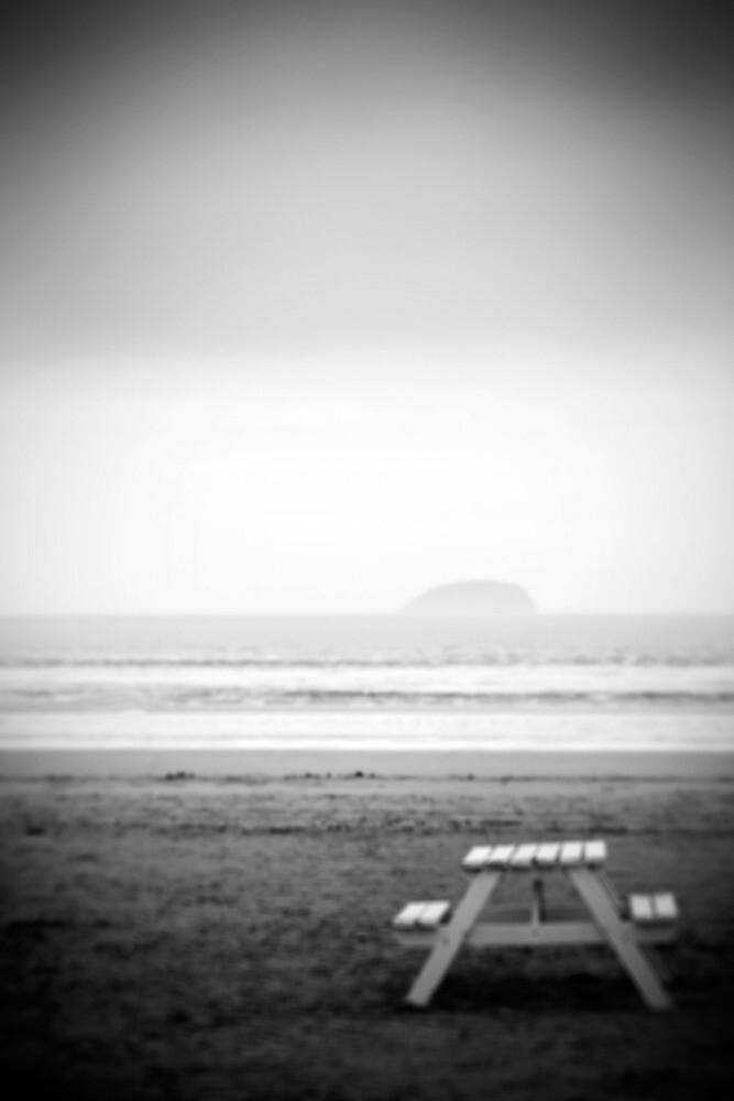 Deserted seaside by Sharonroseart