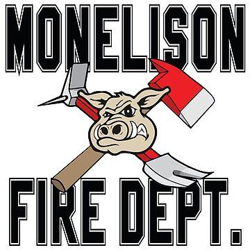 MONELISON FIRE DEPARTMENT by Krysiewicz
