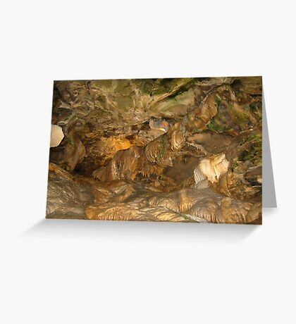 Howe Caverns- New York Greeting Card